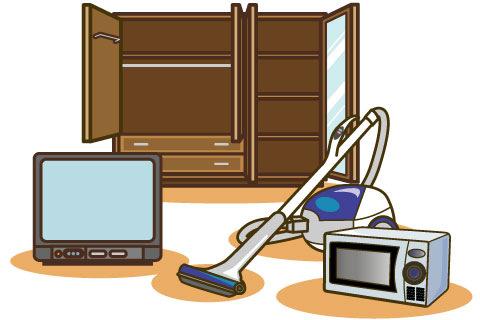 家具・家電の設置は?