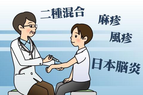 就学児童の予防接種
