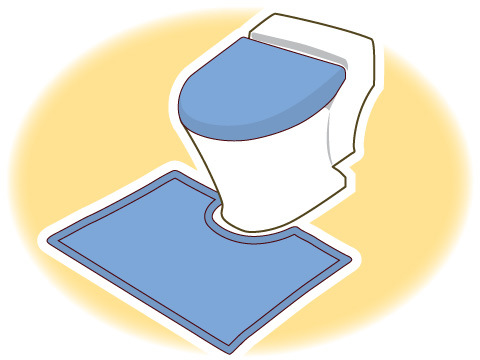 トイレマット・ふたカバー