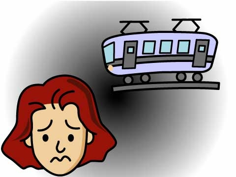 電車でのチカン対策