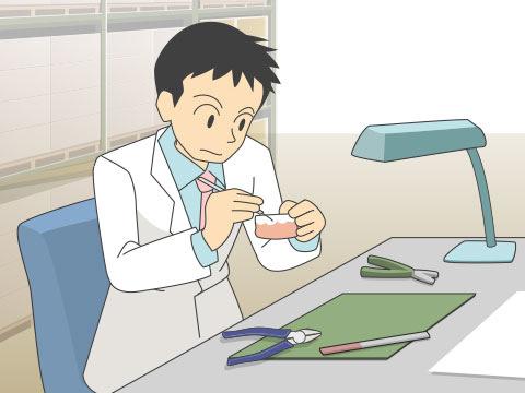 歯科技工士(シカギコウシ)