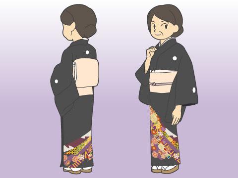 留袖(トメソデ)