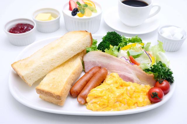 糖尿病予防には、しっかり朝食