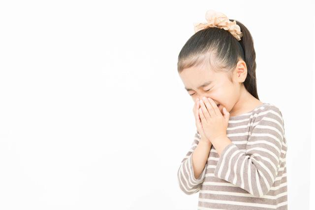 アレルギー性鼻炎の子ども