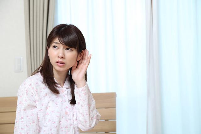 難聴の女性のイメージ