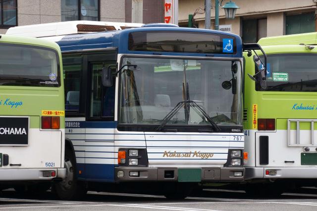 松葉杖のときにバスを使う