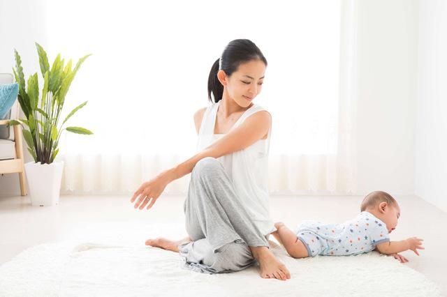 産褥期(産後)は産褥体操から体を慣らしていく