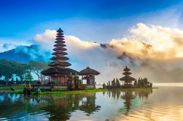 1位:インドネシア(バリ島を含む)