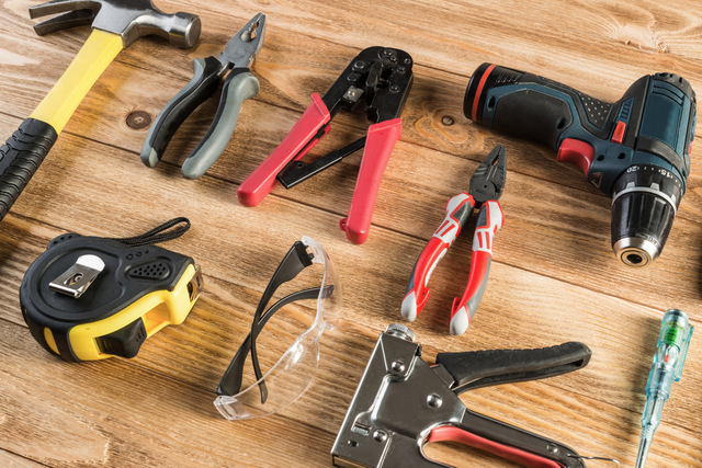 DIYを始めるなら用意しておきたい道具