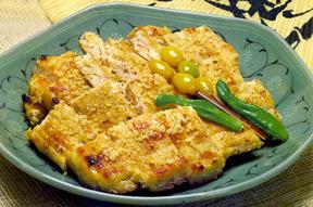 鶏肉のチヂミ(韓国風お好み焼き)