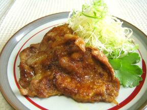 豚肉の照り焼きカレー味
