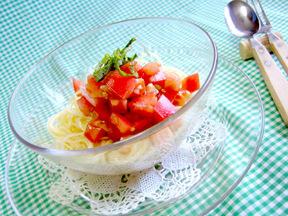 トマトの夏パスタ