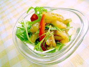 イカのフェサラダ(韓国風刺身サラダ)
