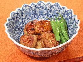 鶏団子の照り煮