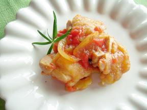 簡単!鶏肉のトマト煮