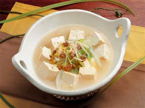 豆腐と白菜の中華風味鍋