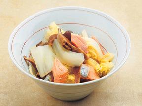 塩サケと白菜のあっさり煮