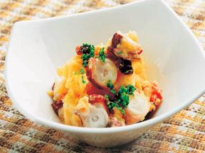 タコとジャガイモのピリ辛サラダ