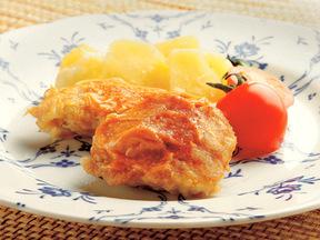 鶏のピカタ パプリカ風味