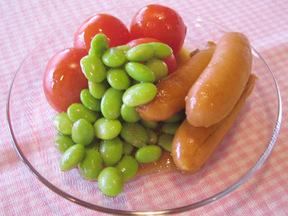 枝豆サラダ