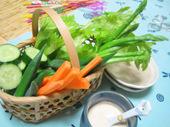 野菜スティック アンチョビソース