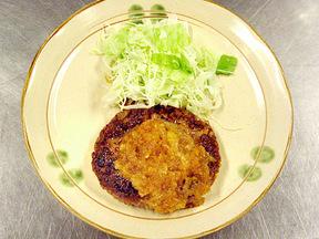 ダイコンソースの野菜ハンバーグ