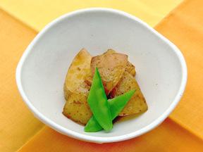 ジャガイモの揚げ煮