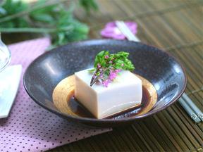 そば豆腐のチョカンジャン(韓国風酢じょうゆ)