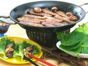 ヤンニョムジャン(薬味のたれ)の焼肉