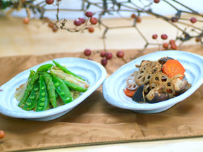 季節野菜のナムル