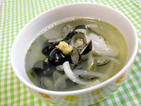シジミの中華スープ