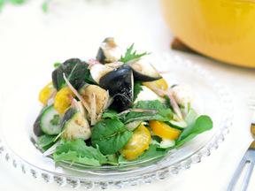 水ナスの薬味サラダ
