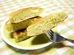 枝豆のパンケーキ