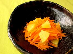 ハチミツ風味のキャロットサラダ