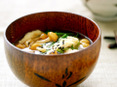 炒め菜の味噌汁