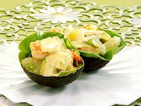 アボカドとエビのハニーサラダ