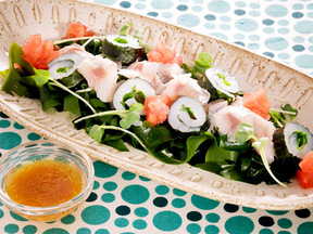 刺身サラダ