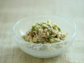 アボカドとツナのサラダ