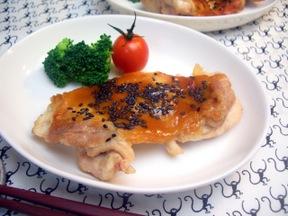 鶏の味噌照り焼き