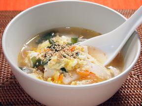 スタミナチゲスープ