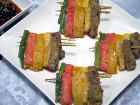 五色の串焼き(ファヤンジョク)