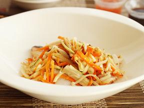塩麹漬けサケと野菜のグリル