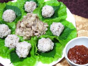 包みご飯(サムパプ)