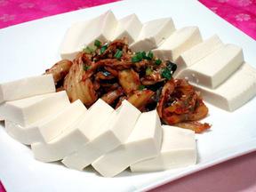 豆腐キムチ(トゥブキムチ)