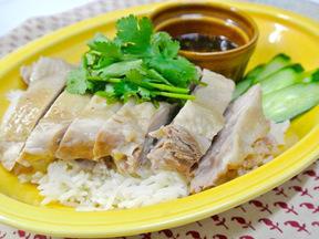 カオマンガイ(タイ風蒸し鶏ごはん)