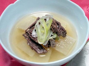 牛肉とダイコンのスープ(セコギムクク)