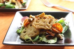 焼き野菜のビネガーサラダ