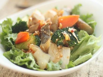 冬野菜とタラの温かサラダ