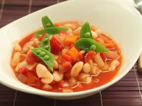 塩麹風味のトマトのスープ