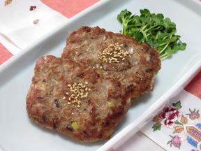 韓国ハンバーグ(トッカルビ)